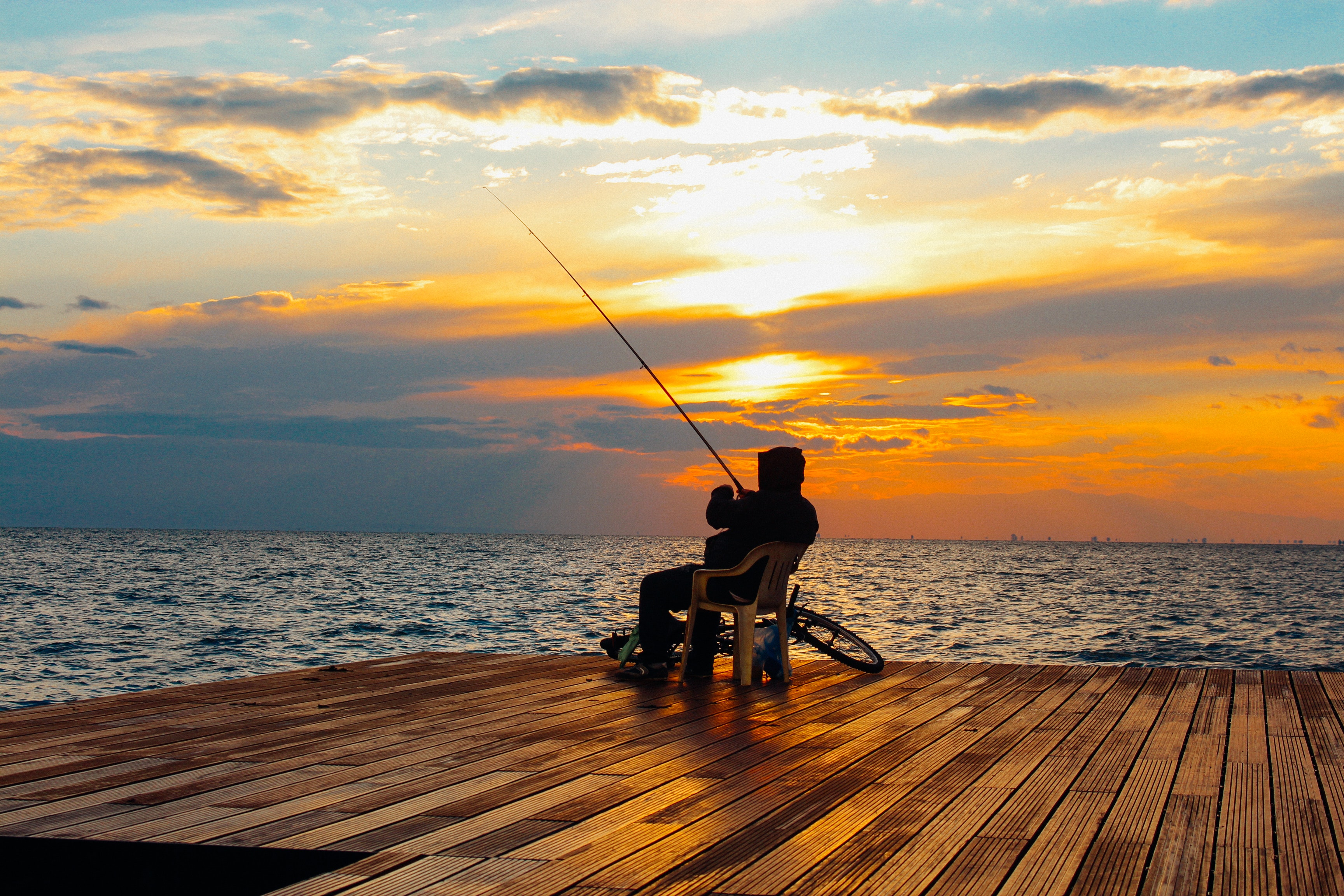 La pêche, que du bonheur